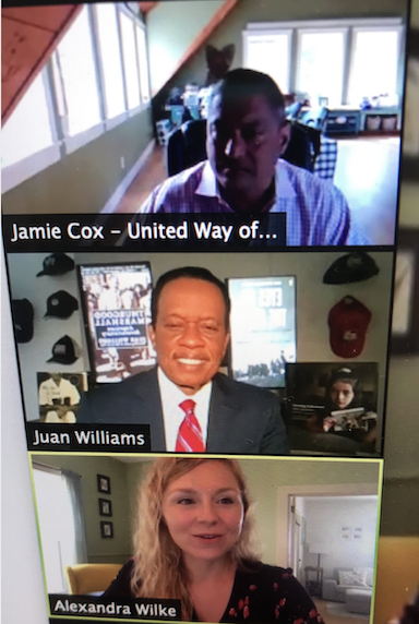 UNITED WAY TOWN HALL FEATURES FOX NEWS' JUAN WILLIAMS