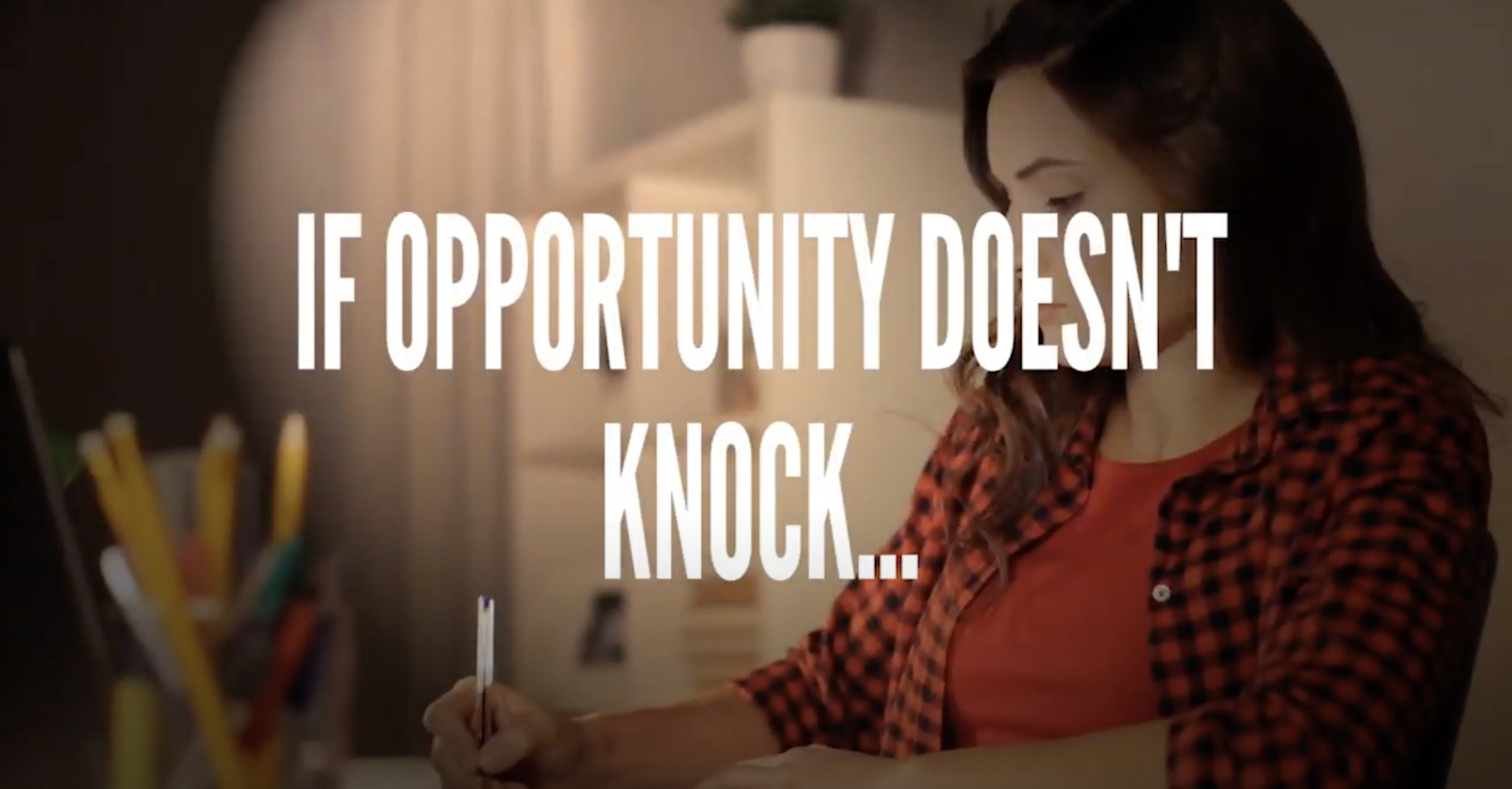 Creating Opportunity